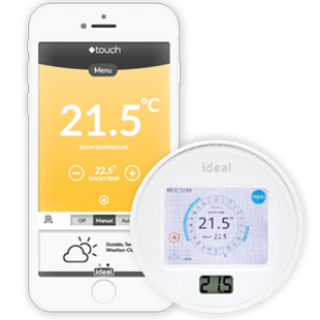 Touch Connect Phone & Thermostat